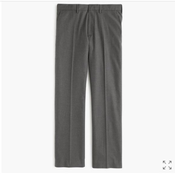 J. Crew Other - J. Crew Bowery Grey Wool Slim Dress Pants